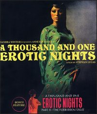 A THOUSAND AND ONE EROTIC NIGHTS BLU-RAY & DVD