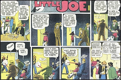 LITTLE JOE SUNDAY COMICS By Harold Gray 1937-1942
