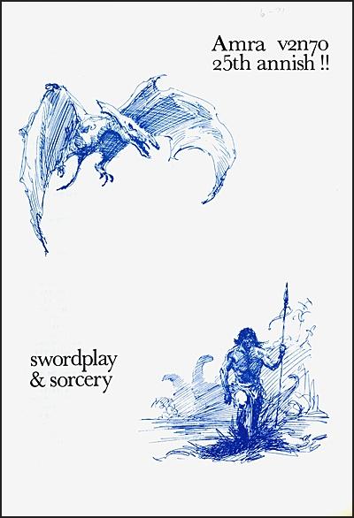 AMRA SWORDPLAY & SORCERY Magazine Set