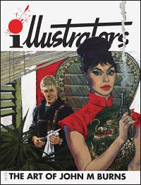 ILLUSTRATORS QUARTERLY SPECIAL #8 The Art of John M. Burns