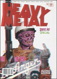 HEAVY METAL MAGAZINE #296 Tristan Eaton Cover