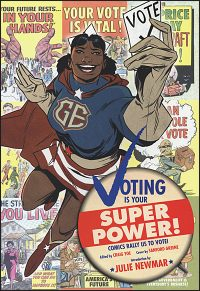 VOTING IS YOUR SUPERPOWER