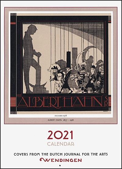 ALBERT HAHN 1877-1918 2021 Calendar