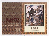 GERLACH'S CHILDREN'S LIBRARY 2021 Calendar Hurt