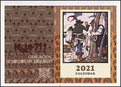 GERLACH'S CHILDREN'S LIBRARY 2021 Calendar-46815