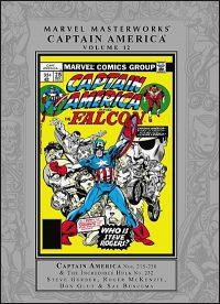 MARVEL MASTERWORKS CAPTAIN AMERICA Volume 12