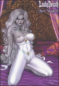 LADY DEATH MORE NAUGHTY Artbook