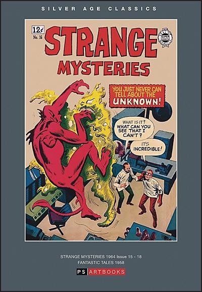 SILVER AGE CLASSICS Strange Mysteries Volume 2 Hardcover