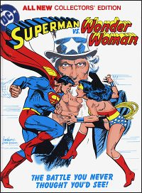 SUPERMAN VS WONDER WOMAN Tabloid Edition