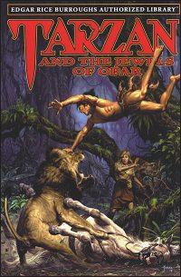 EDGAR RICE BURROUGHS AUTHORIZED LIBRARY 5-8 Book Tarzan Set