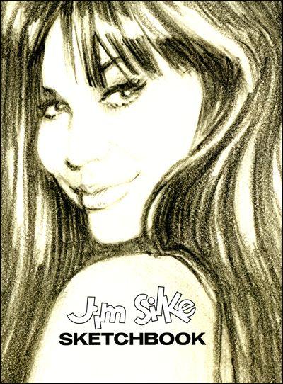 JIM SILKE SKETCHBOOK Signed
