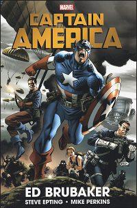 CAPTAIN AMERICA By Ed Brubaker Omnibus Volume 1 New Printing