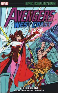 WEST COAST AVENGERS Epic Collection Vision Quest