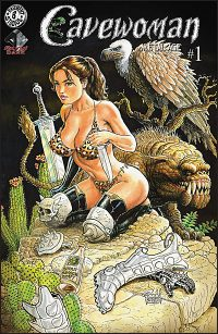 CAVEWOMAN METAL AGE #1 Budd Root Cover F