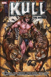 KULL SAVAGE SWORD The Original Marvel Years Omnibus