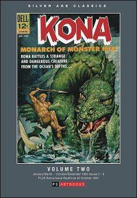 SILVER AGE CLASSICS KONA MONARCH OF MONSTER ISLE Volume 2 Hardcover