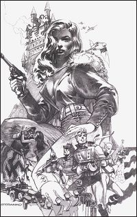 AIRBOY 51 Steranko Cover