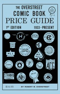 OVERSTREET PRICE GUIDE 1st Edition Facsimile Hardcover