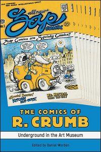 COMICS OF CRUMB Underground in the Art Museum Hardcover