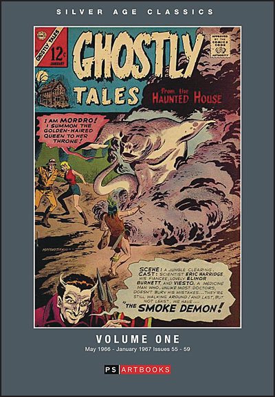 SILVER AGE CLASSICS GHOSTLY TALES Volume 1 Hardcover