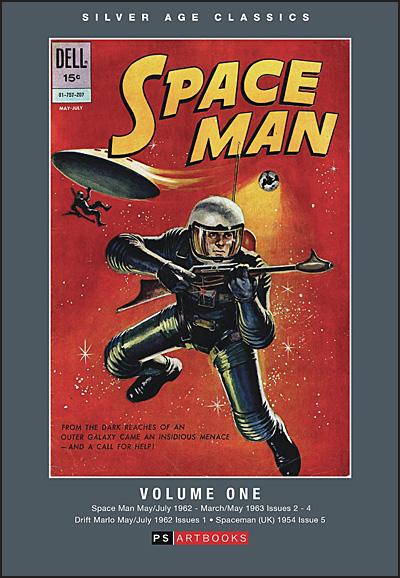 SILVER AGE CLASSICS SPACE MAN Volume 1