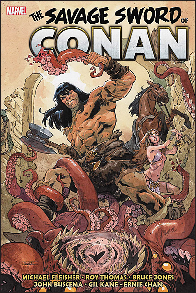 SAVAGE SWORD OF CONAN The Original Marvel Years Omnibus Volume 5