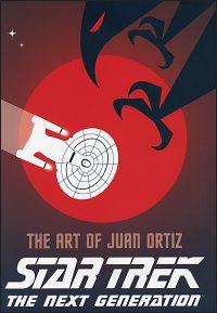 STAR TREK THE NEXT GENERATION THE ART OF JUAN ORTIZ Hurt