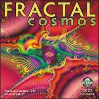 FRACTAL COSMOS The Mathematical Art of Alice Kelley 2022 Calendar