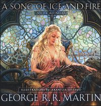 GEORGE R.R. MARTIN A Song of Ice and Fire 2022 Calendar