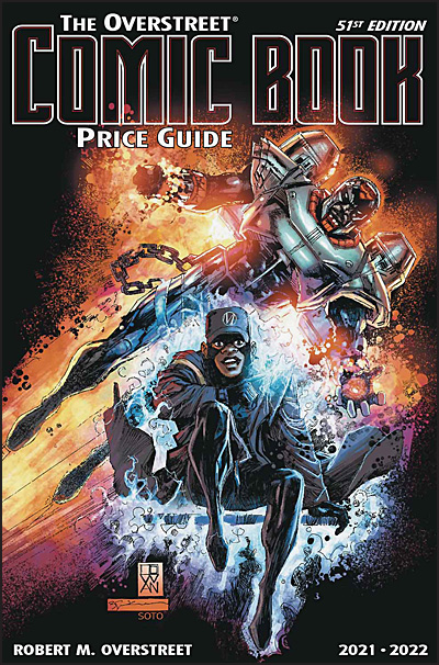 COMIC BOOK PRICE GUIDE 51ST EDITION 2021-22 Static/Hardware