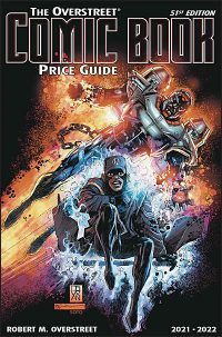 COMIC BOOK PRICE GUIDE 51ST EDITION 2021-22 Static/Hardware Hardcover