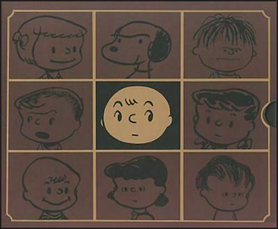 THE COMPLETE PEANUTS #1 & #2 SLIPCASED SET 1950-1954
