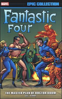 FANTASTIC FOUR Epic Collection Volume 2 The Master Plan of Doctor Doom