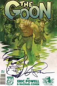 THE GOON #1 Resketched Edition Signed