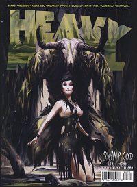 HEAVY METAL MAGAZINE #307 Keron Grant Cover