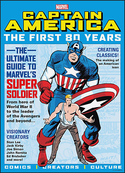 MARVEL'S CAPTAIN AMERICA The First 80 Years