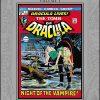 MARVEL MASTERWORKS TOMB OF DRACULA Volume 1