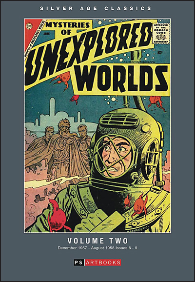 SILVER AGE CLASSICS MYSTERIES OF UNEXPLORED WORLDS Volume 2 Hardcover
