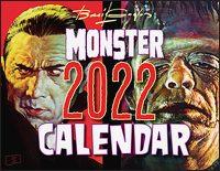 BASIL GOGOS MONSTER 2022 Calendar
