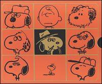 THE COMPLETE PEANUTS  Volume 17 & 18 Slipcased Set 1983-1986
