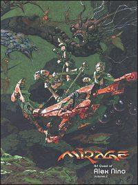 MIRAGE ART QUEST OF ALEX NINO Volume 2 with Original Drawing