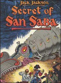 SECRET OF SAN SABA Jack Jackson Signed