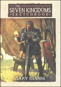 SEVEN KINGDOMS SKETCHBOOK Signed with Drawing