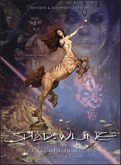 SHADOWLINE The Art of Iain McCaig Revised and Expanded