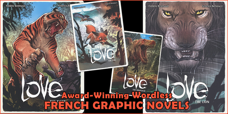 Wordless French Graphic Novels