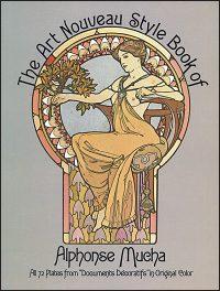 THE ART NOUVEAU STYLE OF BOOK OF ALPHONSE MUCHA
