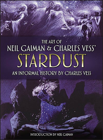 THE ART OF NEIL GAIMAN & CHARLES VESS' STARDUST Signed