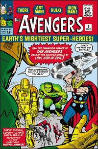 MIGHTY MARVEL MASTERWORKS The Avengers Volume 1 The Coming of the Avengers
