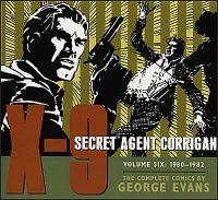 X-9 SECRET AGENT CORRIGAN Volume 6 1980-82