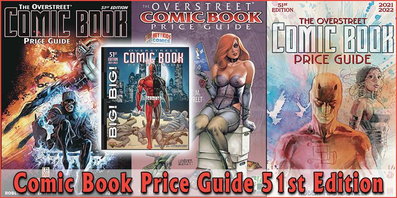Comic Book Price Guide 51st Edition